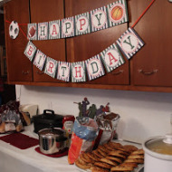 Mommy Monday:  HD's 3rd Birthday Party