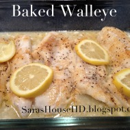 Baked or Grilled Walleye