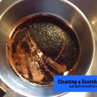 Cleaning a Scorched Pan