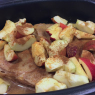 Easy Slow Cooker Pork and Apples