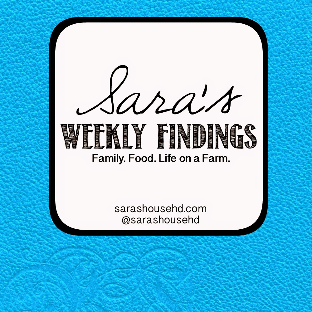Sara's Weekly Findings