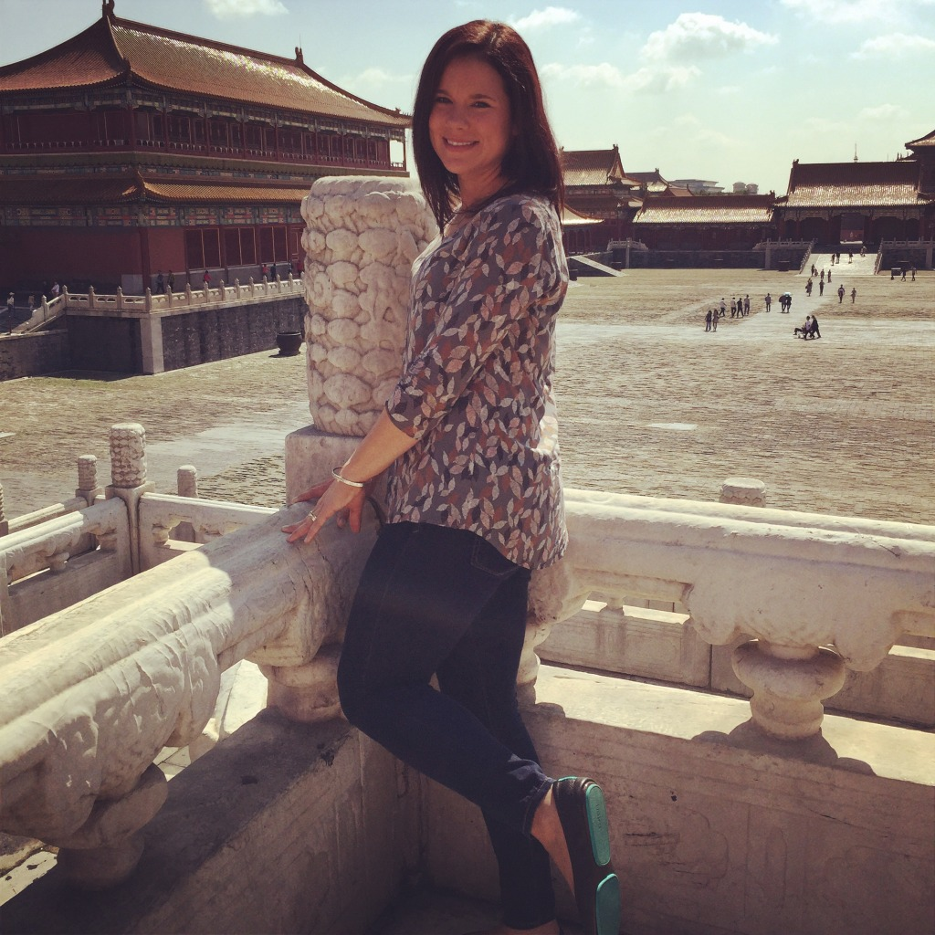 Tieks in China-Forbidden City