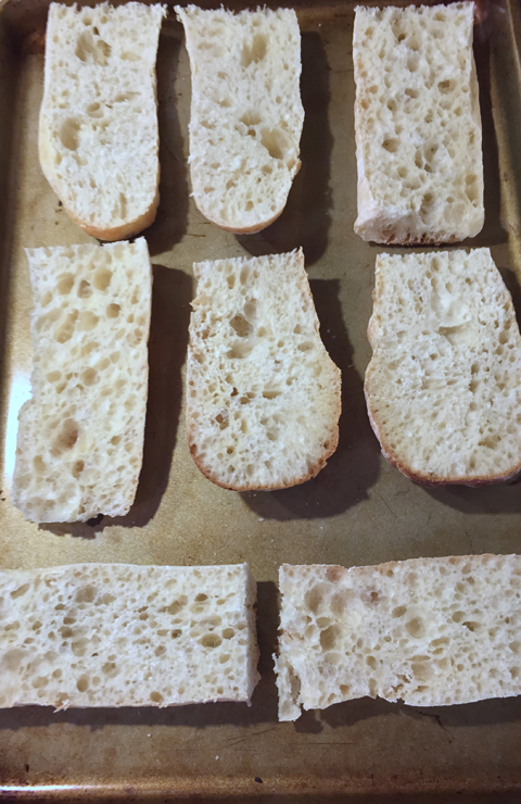French Bread for Pizza Boats - www.saras-house.com