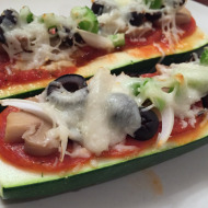Kid-Friendly Pizza Boats (with a Healthier Option too!)