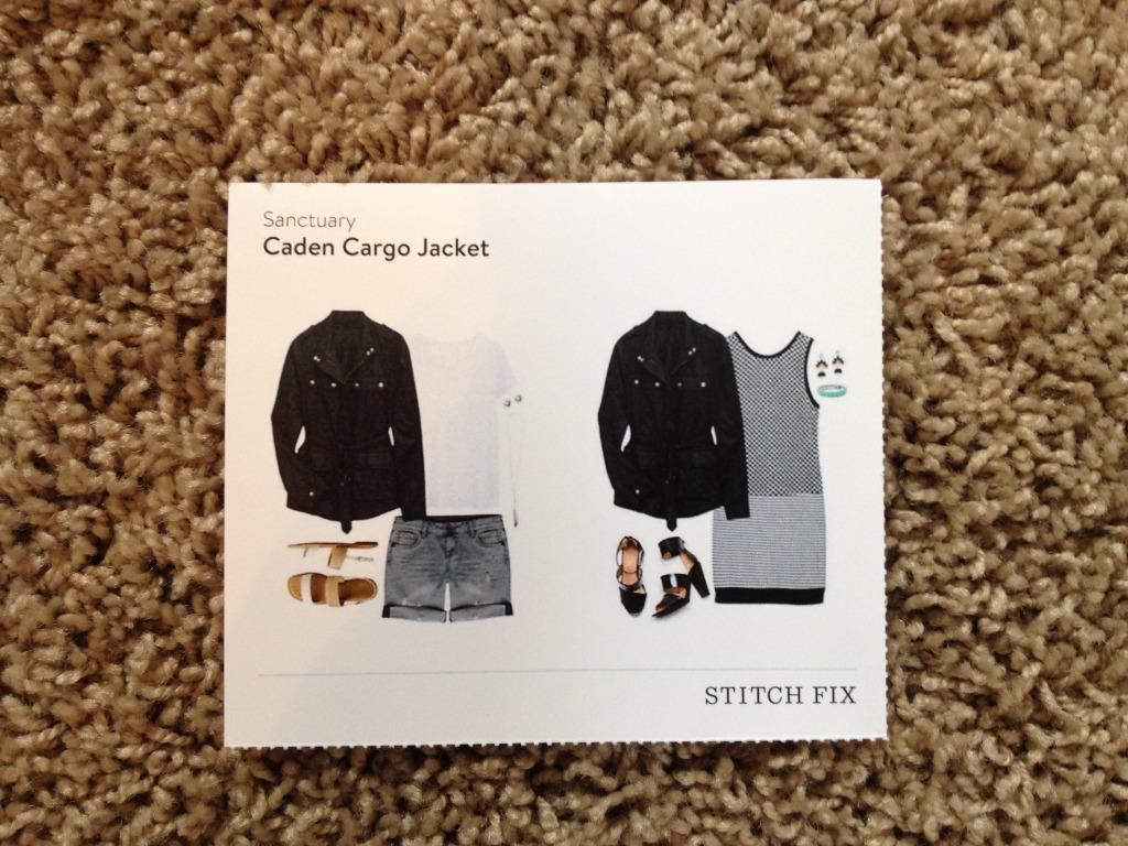 Idea Card-Sanctuary Caden Cargo Jacket-Stitch Fix #6 @sarashousehd
