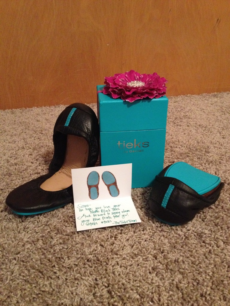 New Tieks-Matte Black