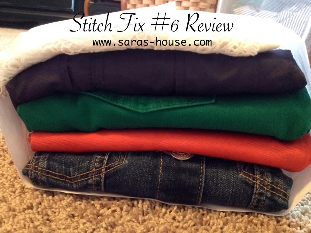 Stitch Fix Review #6 on @sarashousehd