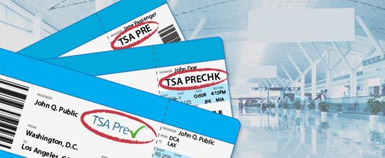 TSA PreCheck Tickets