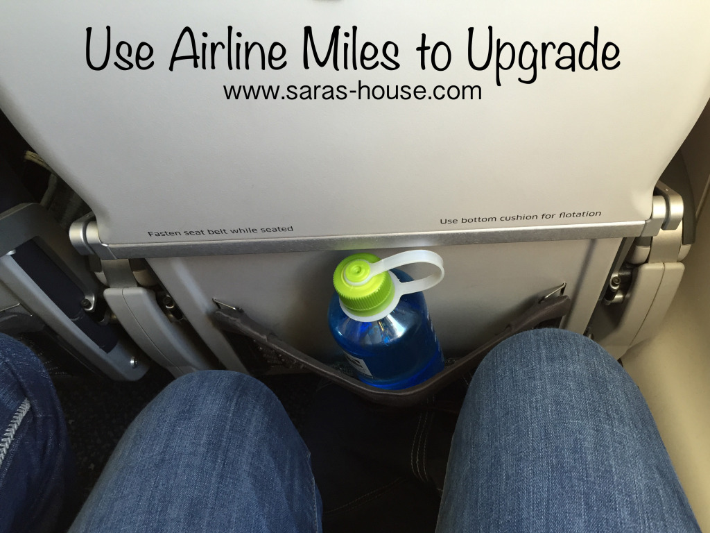 Use Miles to Upgrade