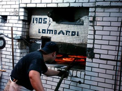 Lombardi's Pizzeria Oven