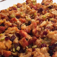 Family Favorites-Holiday Side Dishes: Grandma's Stuffing
