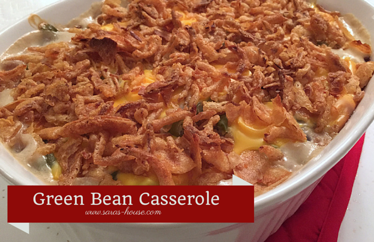 Green Bean Casserole-www.saras-house.com