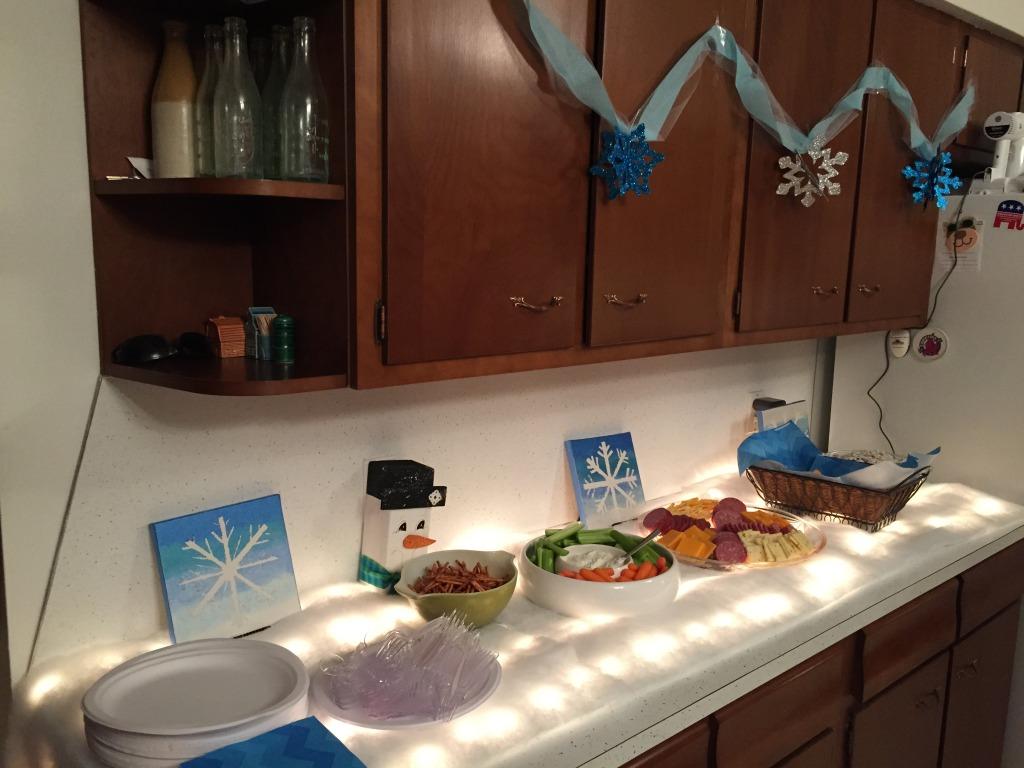 Frozen Theme for Boy Birthday Party