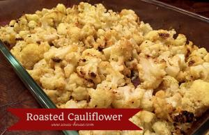 Roasted Cauliflower-www.saras-house.com