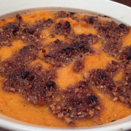 Family Favorites-Holiday Side Dishes:  Sweet Potato Casserole