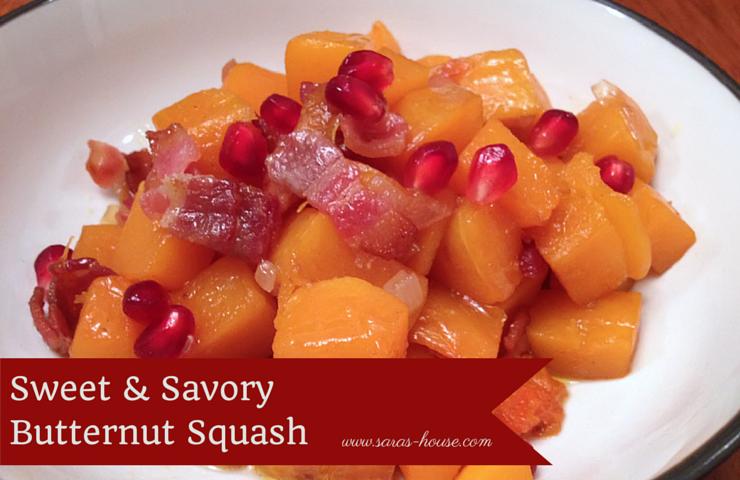 Sweet & Savory Butternut Squash-www.saras-house.com