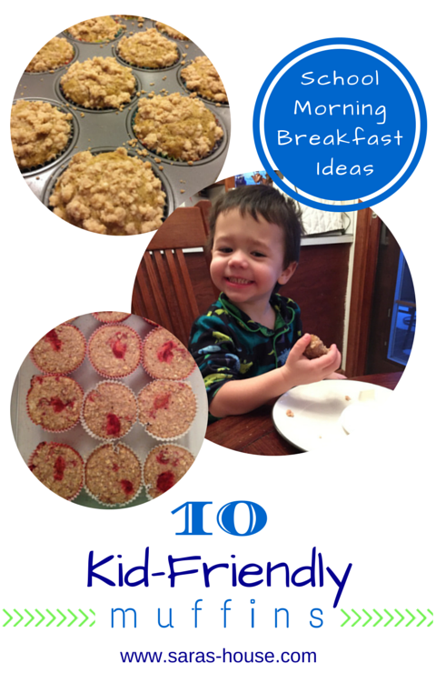 10 Kid-Friendly Muffins for Back-to-Shool Breakfasts