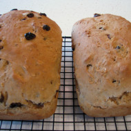Grandma's Oatmeal Raisin Bread