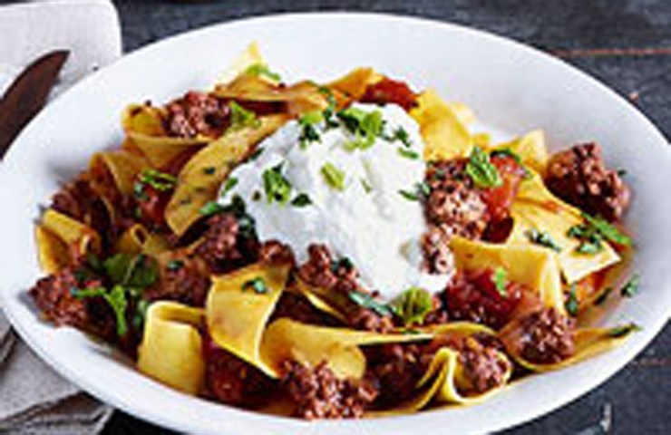 Spicy Lamb Ragu-Rachel Ray