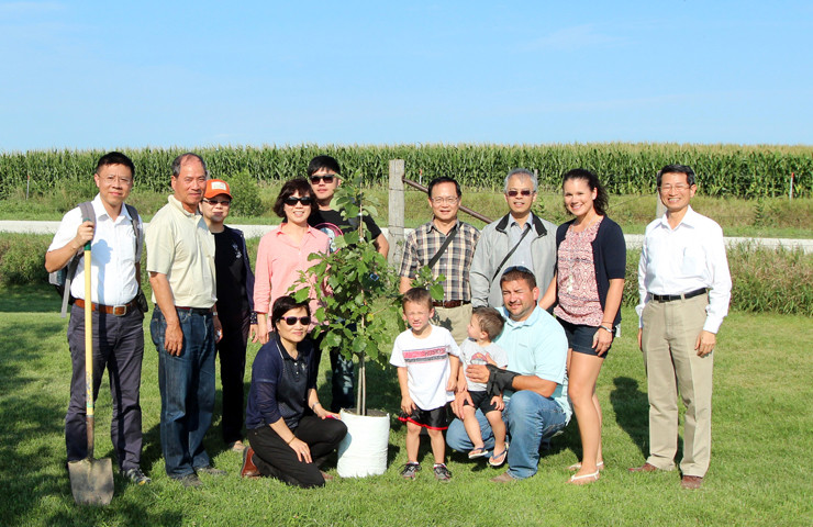 Taiwan Ag Group Visits Our Family Farm