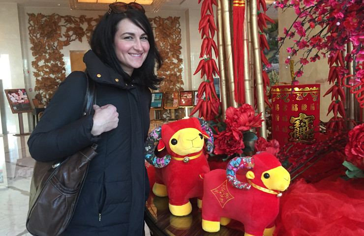 Year of the Sheep-Kristin in China