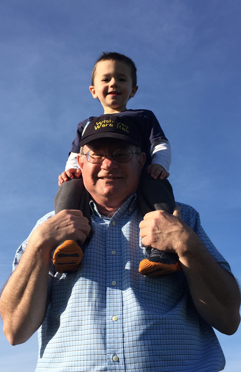 Axten & Grandpa