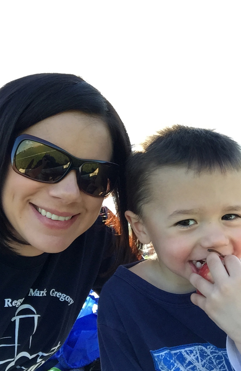 Axten and Mommy