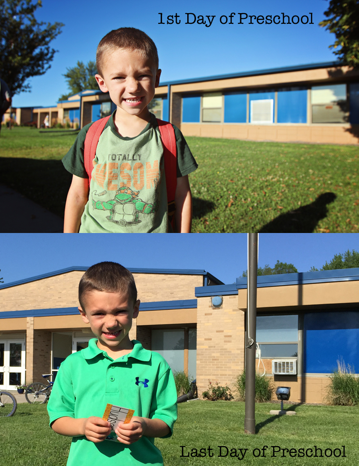 First:Last Day of Preschool