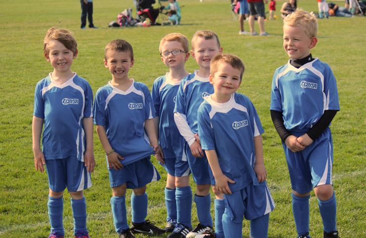 Hudson's Soccer Team