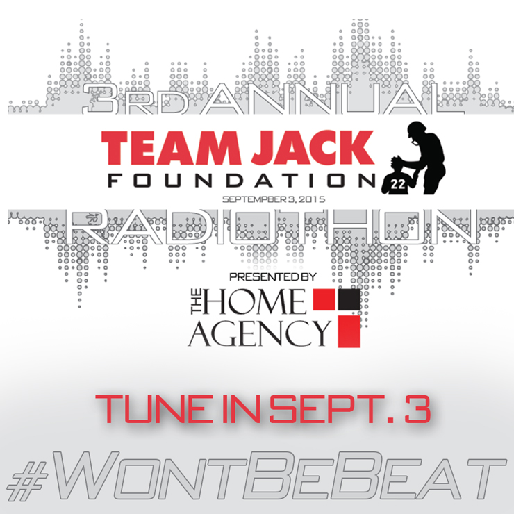 3rd Annual Team Jack Radiothon-Tune in Tomorrow (Sept 3rd)!