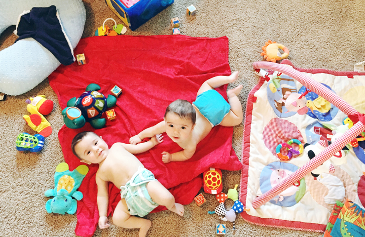 Surviving the First Six Months with Twins