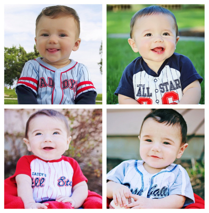 Ross Boys at 6 Months Old