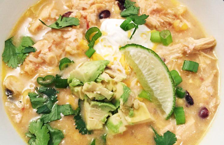 Chicken Tortilla Soup for Cinco de Mayo