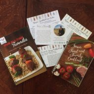 Favorite Cookbooks Giveaway!